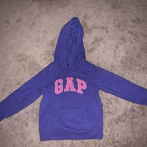 BabyGap girls hoodie size 5T.  Like new